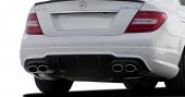 Mercedes W204 C Serisi Makyajlı Amg Difüzör