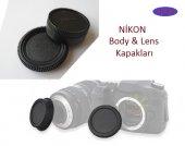 Nikon 18 55mm Lens Arka Kapağı Nikon Body Ön...