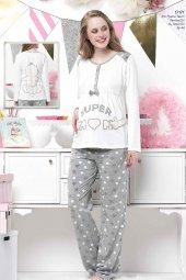 Aqua 3 Lü Polar Pijama Takımı
