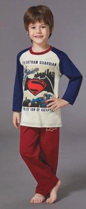 Batman Erkek Çocuk Pijama Takımı 6 8 Yaş