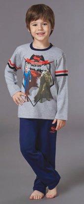 Batman Erkek Çocuk Pijama Takımı 10-16 Yaş-2