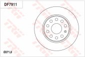 Fren Diski Arka Audı A1 A3 1.4 Tfsı 1.6 Tdı 08