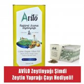 5 lt Avilo Soğuk Sıkım Natürel Sızma Zeytinyağı