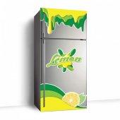 Limon Buzdolabı Sticker