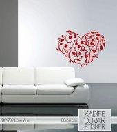 Love Wıne Aşk Kalpli Duvar Stıcker