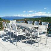 Siesta Sola 4 Sandalyeli Bahçe Mutfak Balkon Masa Takımı-2