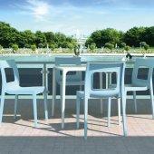 Siesta Manlucca 4 Sandalyeli Bahçe Mutfak Balkon Masa Takımı-3