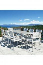 Siesta Sola 4 Sandalyeli Bahçe Mutfak Balkon Masa Takımı-10