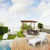 Siesta Rattan Fiji Şezlong Bahçe Havuz Mobilyası