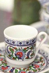 Kütahya Porselen 1860 Gözde Topkapı  6 Kişilik Fincan Takımı-2