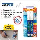Vodaseal Fayans Derz Kalemi Beyaz 2 Li Set + 2 Adet Yedek Uç