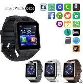 Kameralı Akıllı Saat Smart Watch Gri