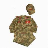 Erkek Çocuk Asker Komando Kıyafeti Kostüm 13 14 Ya...