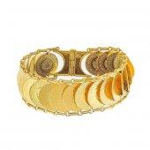Ziynet Çeyrekli Kaykay Bileklik 56,00 Gram 22 Ayar Altın