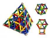 Magnastix 370 Parça Manyetik Lego Seti-3