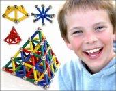 Magnastix 370 Parça Manyetik Lego Seti-5