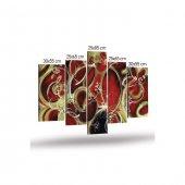 Pumpin Blood 5 Parça Kanvas Tablo 135X85 Cm Copy-4
