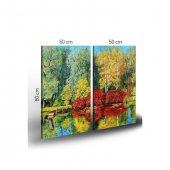 Nara 2 Parça Kanvas Tablo 80X100 Cm-4