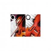 Jazz Music 2 Parça Kanvas Tablo 80x100 Cm