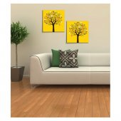Yellow Tree 2 Parça Kanvas Tablo 80X40 Cm-3