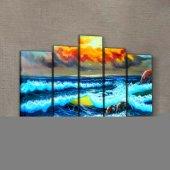 Sunset 95x70 cm Kanvas Tablo-2