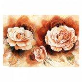 Pink Roses 95x70 Cm Kanvas Tablo