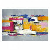 Colors 95x70 cm Kanvas Tablo