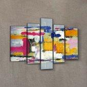 Colors 95x70 cm Kanvas Tablo-2