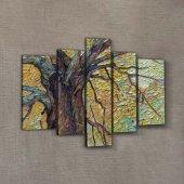 Old Tree 95x70 cm Kanvas Tablo-2