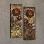 Flower 60x90 cm Kanvas Tablo-2