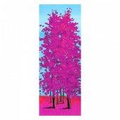 Pink Tree 30x90 Cm Kanvas Tablo