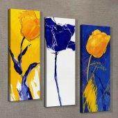 Laleler 90x90 cm Kanvas Tablo-2