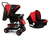 Diamond Baby P 101 Çift Yönlü Travel Sistem Bebek Arabası - Ayak Örtüsü Yağmurluk Dahil-7