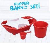Flipper Bebek Banyo Küvet Seti - 5 Parça Bebek Banyo Küveti-6