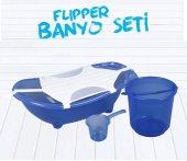 Flipper Bebek Banyo Küvet Seti - 5 Parça Bebek Banyo Küveti-2