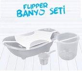 Flipper Bebek Banyo Küvet Seti - 5 Parça Bebek Banyo Küveti-5