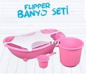 Flipper Bebek Banyo Küvet Seti 5 Parça Bebek Banyo Küveti �