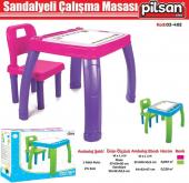 Pilsan Sandalyeli Çalışma Masası 03-402 - Aktivite Masası