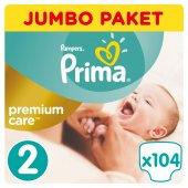 Prima Bebek Bezi Premium Care 2 Beden 104 Adet