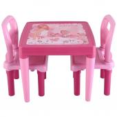 Pilsan Menekşe - Hobby iki Sandalyeli Çalışma Sırası - Oyun ve Aktivite Çalışma Masası