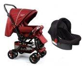 Diamond Baby P 101 Çift Yönlü Travel Sistem Bebek Arabası - 6 Renk - Ayak Örtüsü Yağmurluk Dahil-3