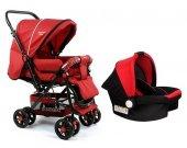 Diamond Baby P 101 Çift Yönlü Travel Sistem Bebek Arabası - 6 Renk - Ayak Örtüsü Yağmurluk Dahil-4