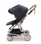Norfolk Baby Prelude Special Edition Air Luxury Çift Yönlü Bebek Arabası - Siyah-3