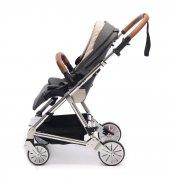 Norfolk Baby Prelude Special Edition Air Luxury Çift Yönlü Bebek Arabası - Gri-2