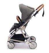 Norfolk Baby Prelude Special Edition Air Luxury Çift Yönlü Bebek Arabası - Gri-3