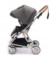 Norfolk Baby Prelude Special Edition Air Luxury Çift Yönlü Bebek Arabası - Gri-4