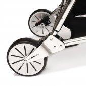 Norfolk Baby Prelude Special Edition Air Luxury Çift Yönlü Bebek Arabası - Gri-5