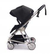 Norfolk Baby Prelude Special Edition Air Luxury Çift Yönlü Bebek Arabası - Gri-7