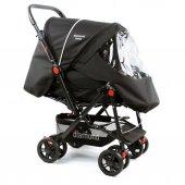 Diamond Baby P101  Çift Yönlü Bebek Arabası - 6 Renk - Ayak Örtüsü Yağmurluk Dahil -3