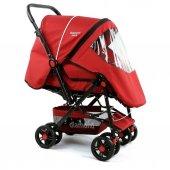 Diamond Baby P101  Çift Yönlü Bebek Arabası - 6 Renk - Ayak Örtüsü Yağmurluk Dahil -4